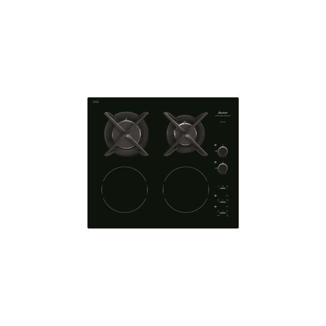 sauter table de cuisson mixte induction gaz 2 foyers. Black Bedroom Furniture Sets. Home Design Ideas