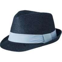 Myrtle Beach - Chapeau été léger - ruban contrasté- adulte - Mb6564 - noir  ruban 5b41536cab0