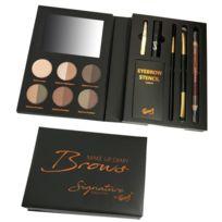 Gloss - Coffret cadeau coffret maquillage kit pour sourcils complet - 16pcs