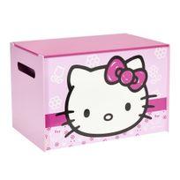 Comforium - Coffre à jouets Hello Kitty pour enfant