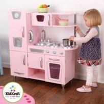 Cuisine enfant Vintage rose