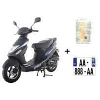 EUROCKA - Scooter CKA SPORT 50cc 4T+ IMMATRICULATION