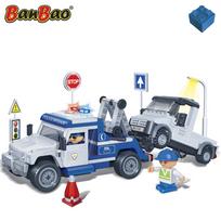 Banbao - Dépanneuse de police 8345
