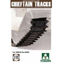 Takom - Accessoires militaires : Set de chenille pour char Chieftain