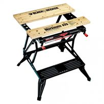 Black & Decker - Wm825 Établi Étau Workmate - Grand Format Table Pour Atelier