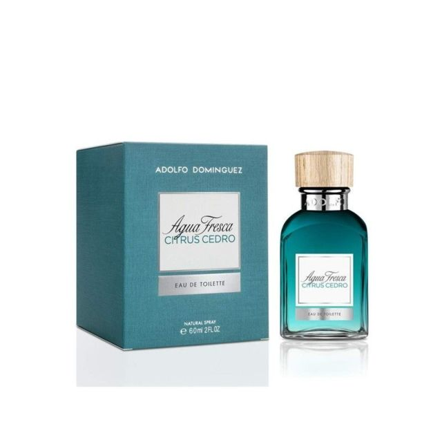 Adolfo Dominguez Pas Fresca Homme Citrus Parfum Agua Cedro Edt 80mNnwvO
