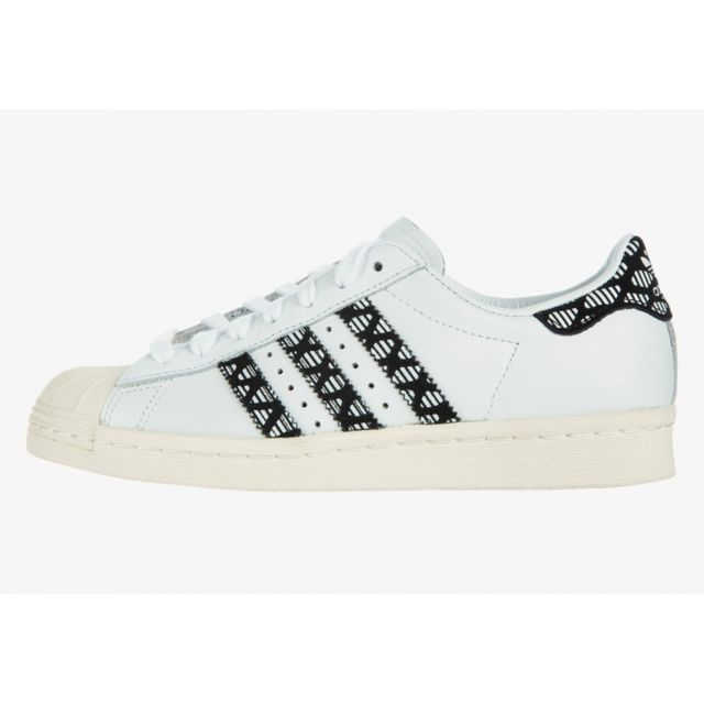 Adidas Basket mode Originals Superstar 80s W Leather