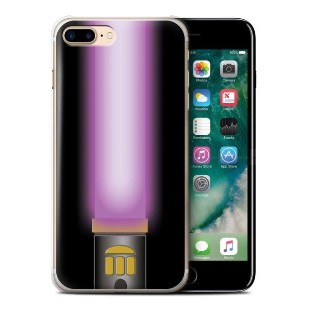 coque iphone 7 plus violet