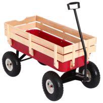 chariot jardin 4 roues achat chariot jardin 4 roues pas cher rue du commerce. Black Bedroom Furniture Sets. Home Design Ideas