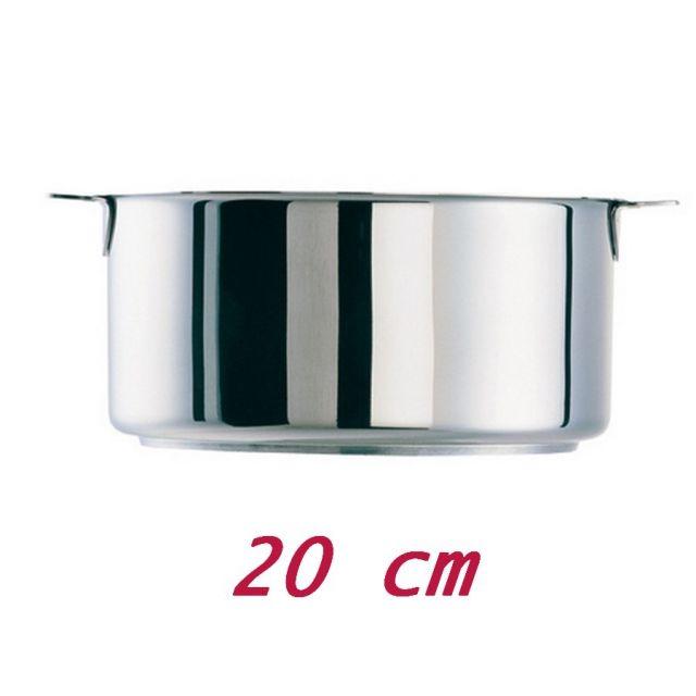 Cristel Casserole amovible classique 14 cm