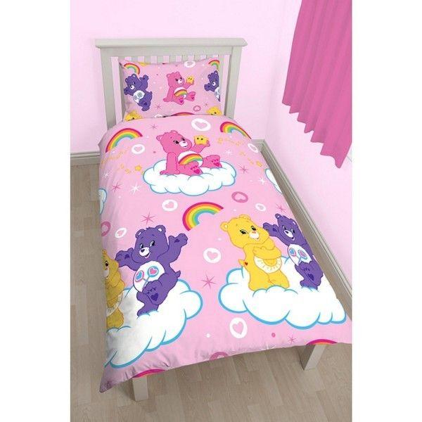 Disney - Parure de lit Bisounours Pink Multicolore - 140cm x 200cm