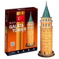 Cubicfun - Puzzle 3D 17 pièces : Tour de Galata, Turquie
