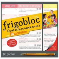 Frigobloc Qu Est Ce Qu On Mange Ce Soir Calendrier D Organisation Familiale Janv Dec 2020 Edition 2020