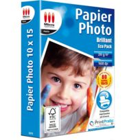 Micro Application - Pack 80 papiers photo brillant 10x15 ma-5375
