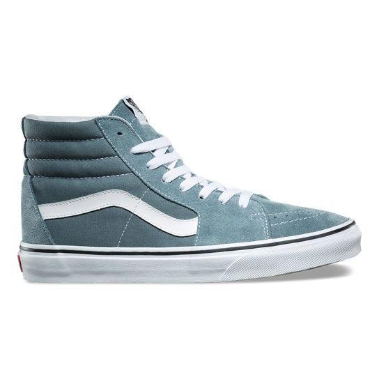 Vans Chaussures Sk8 Hi Goblin Bluewhite A38ge2lj Pas Cher Achat