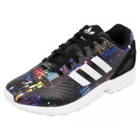 huge discount 35fc1 55e88 Adidas - ZX FLUX W BLK - Chaussures Femme Noir 37 1 3