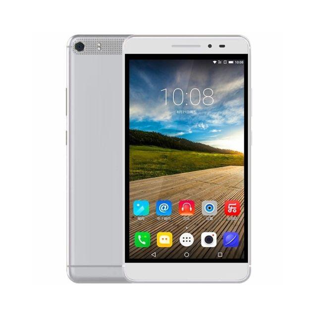 Auto-hightech Smartphone 2Go + 32Go, 6,8 pouces Android 5.0 Msm8939 Octa Core 1.5GHz, Réseau 4G, double Sim - Argent
