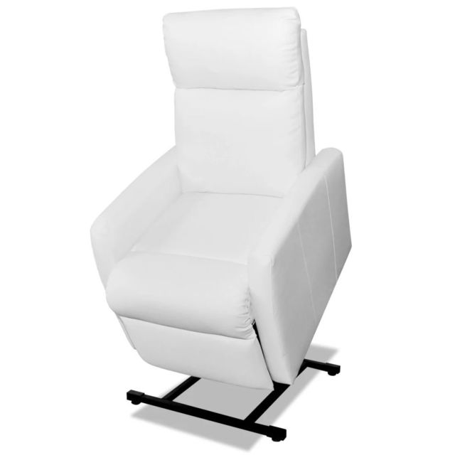 Vidaxl vida Xl Fauteuil releveur électrique inclinable Tv Blanc | Blanc