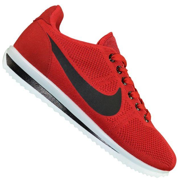 c45f2e7cd4b68 Nike - Basket - Homme - Cortez Ultra Moire Canvas - Rouge - pas cher Achat  / Vente Baskets homme - RueDuCommerce