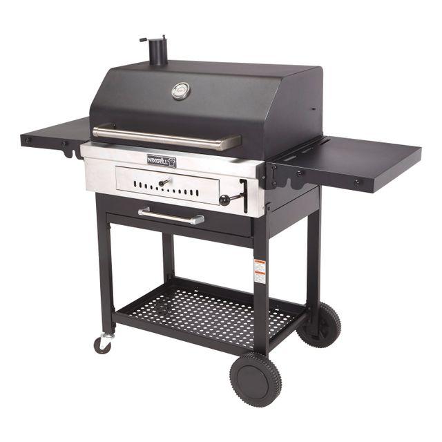 LE BARBECUE - Barbecue à charbon de bois sur chariot CR1000 - 810-0021C