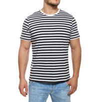 Redskins - T-shirt homme Hades ceres marinière manches courtes