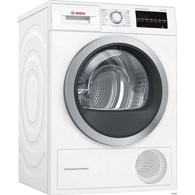 Bosch Sèche-linge Pompe à chaleur - WTW87499FF - Blanc