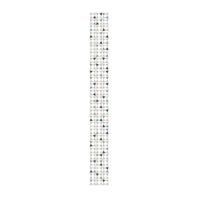 plage sticker d co carrelage amandola vinyle 10x10 cm blanc et gris pas cher achat vente. Black Bedroom Furniture Sets. Home Design Ideas