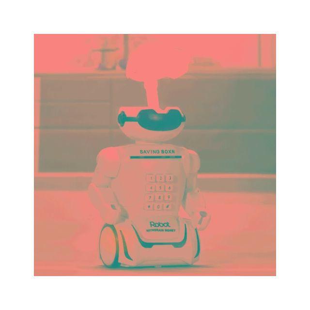 Wewoo Tirelire multifonction Robot pour les enfants