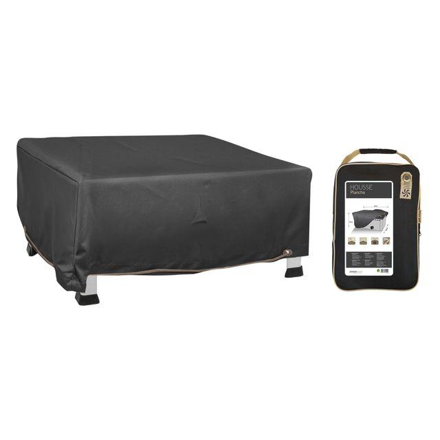 bache housse de protection pour barbecue et plancha 130cm vendu par rueducommerce 174385. Black Bedroom Furniture Sets. Home Design Ideas