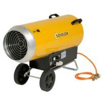 SOVELOR - Chauffage gaz air pulsé mobiles au gaz propane à combustion directe - BLP103E