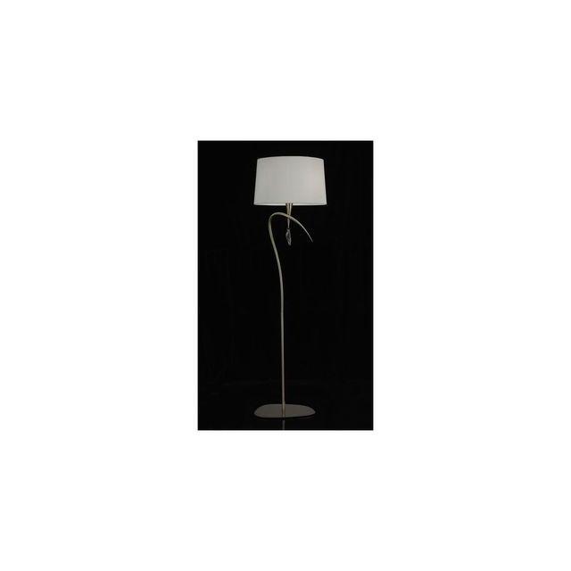 boutica design lampadaire mara laiton antique 4x20w mantra 1632 multicolor 0cm x 0cm x. Black Bedroom Furniture Sets. Home Design Ideas