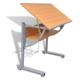 Rocambolesk - Superbe Table à dessin avec plateau inclinable et hauteur ajustable Neuf