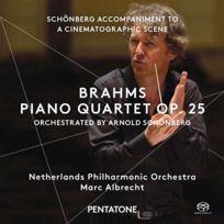 Pentatone - Johannes Brahms | Arnold Schönberg - Quatuor avec piano opus 25 Boitier cristal
