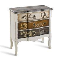 commode 80 cm achat commode 80 cm pas cher soldes rueducommerce. Black Bedroom Furniture Sets. Home Design Ideas
