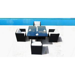 Concept Usine - Superbe Salon De Jardin En Resine Encastrable Luxe ...