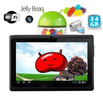 Yonis - Tablette tactile Android 4.1 Jelly Bean 7 pouces capacitif 34 Go Noir
