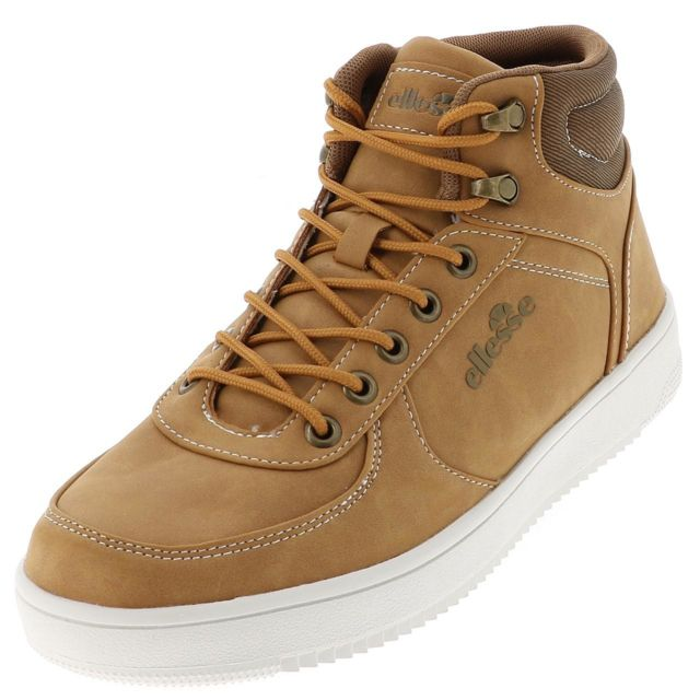basket ellesse homme marron