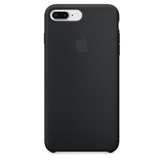 APPLE iPhone 8 Plus/7 Plus Silicone Case - Noir