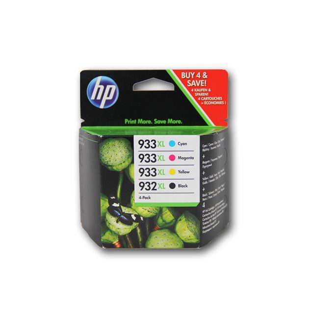 HP C2P42AE - Pack de 4 Cartouches d'encre 932XL/933XL 4 couleurs
