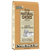 Nutro Natural Choice - Croquettes Allégées à l'Agneau et Riz pour Chien Adulte - 10Kg