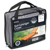 Provence Outillage - Housse de chaise longue renforcée grise