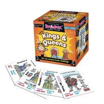 Green Board Games - BrainBox Kings and Queens of England Jeu de Société