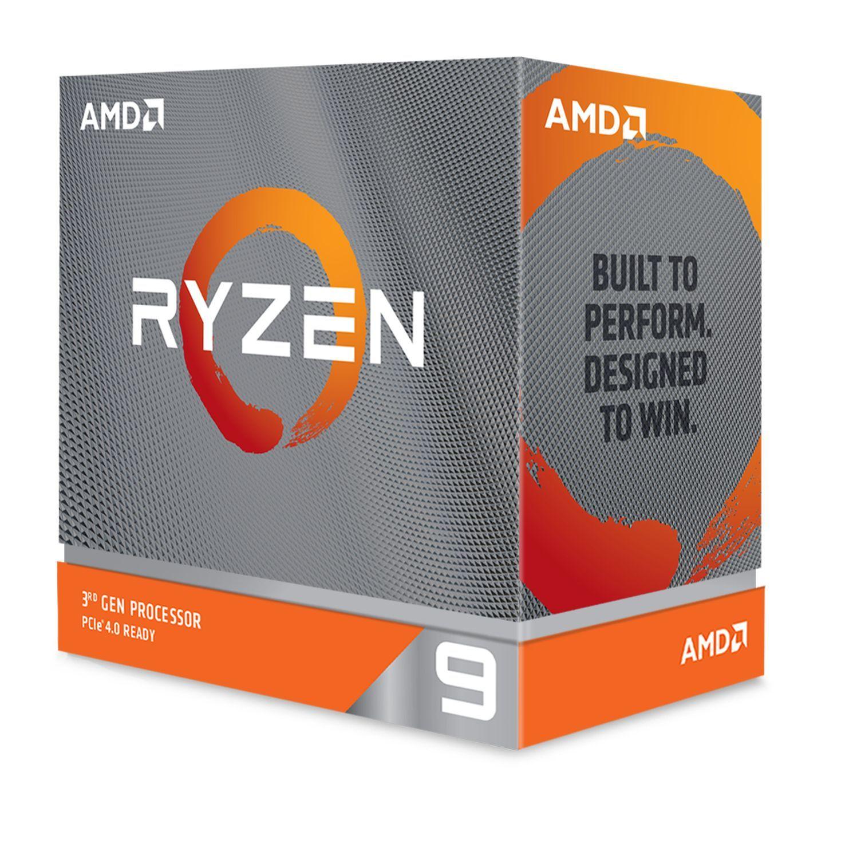 Ryzen 9 3900XT - 3,8/4,7 GHz