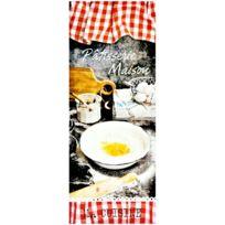 Promobo - Tableau Cadre Toile Imprimé Cuisine Déco Bistrot Pâtisserie Maison 24 x 60 cm