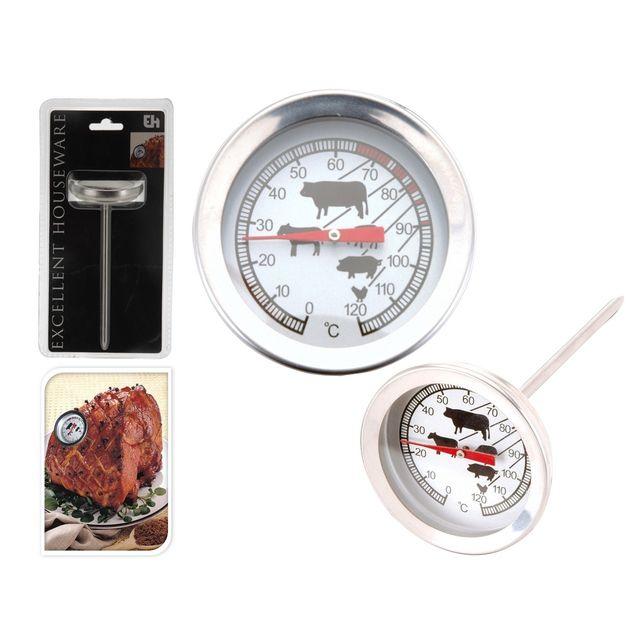 Générique Thermometre Viande Inox