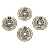 Hyper - Roues de roller Assault micro 80mm/82a Blanc 10055