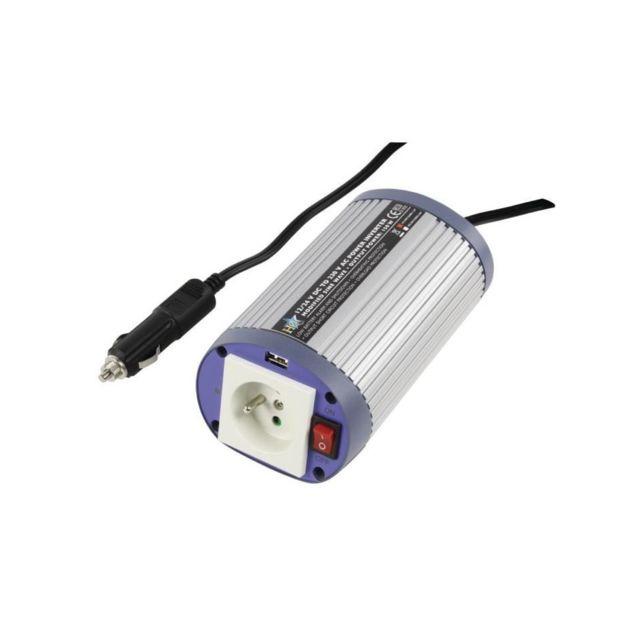 HQ - Convertisseur de tension Usb 300 W 12 V en 220 V