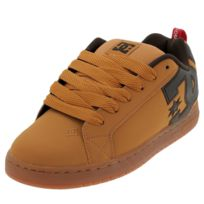 cheap for discount 88879 75ac7 Dc - Chaussures skateboard shoes Court graffik camel Marron 39475
