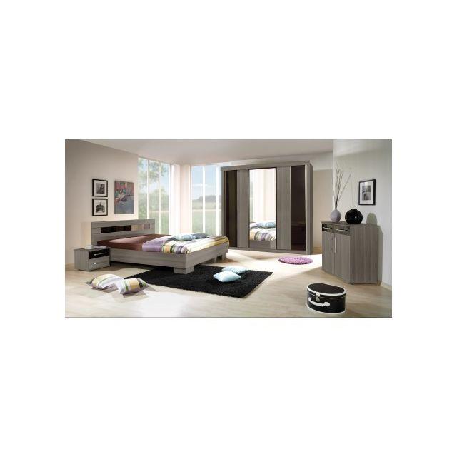 Price Factory - Chambre à coucher complète Dublin adulte design ...