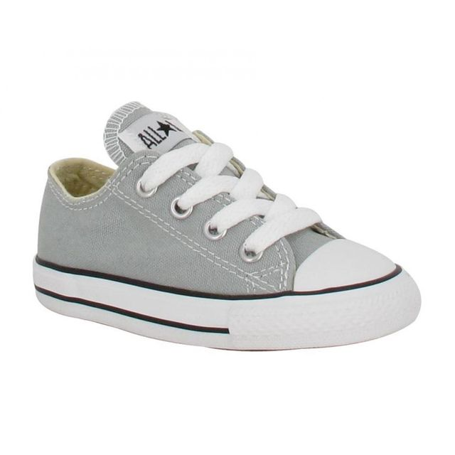 Chuck Taylor All Star toile Enfant 28 Gris Mirage